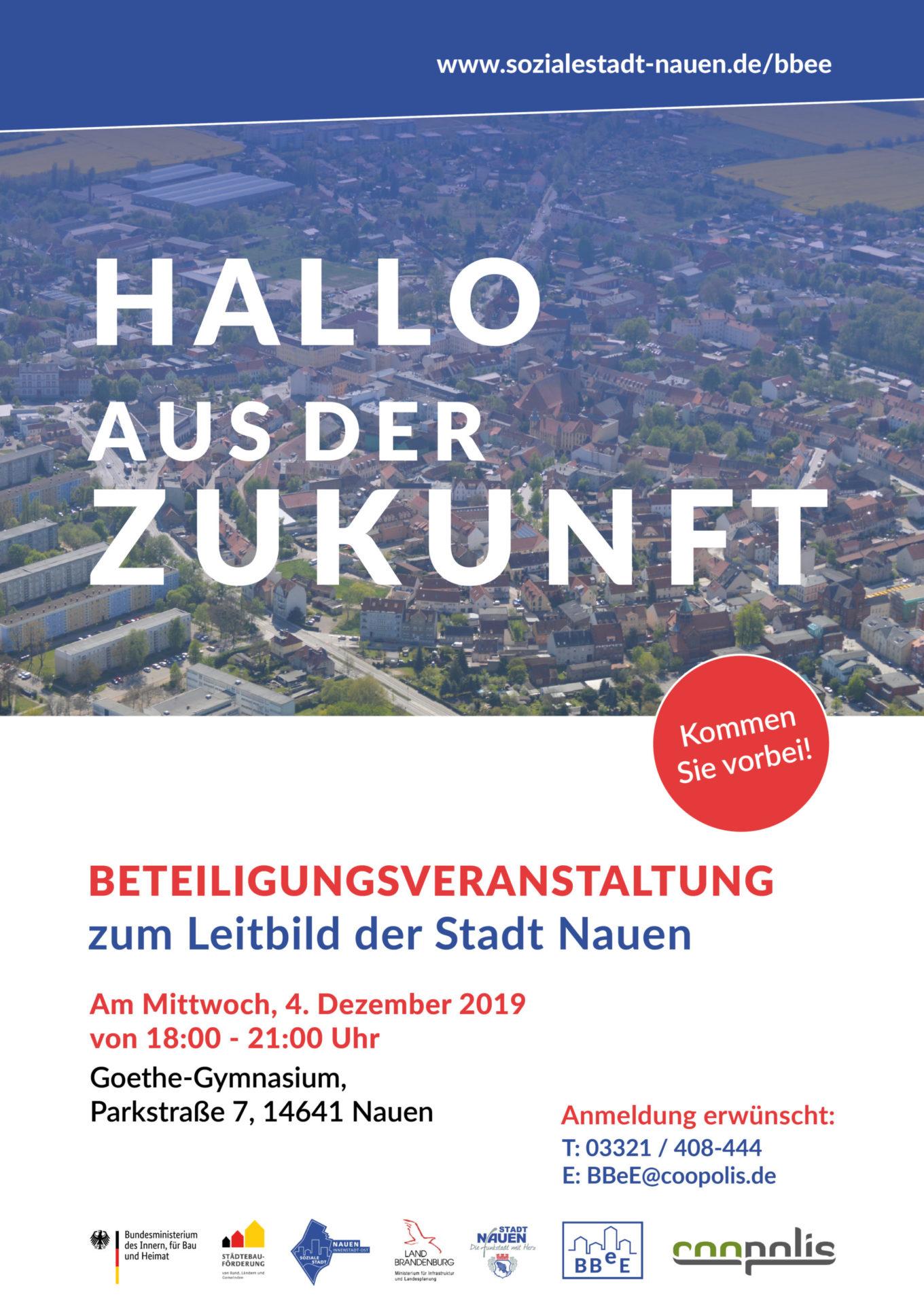 Plakat Leitbild-Veranstaltung 04.12.19